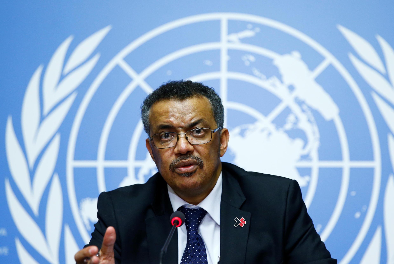O etíope Tedros Adhanom Ghebreyesus, de 52 anos e especialista em paludismo, obteve 133 votos, na terceira volta da eleição, contra os 50 do inglês David Navarro.