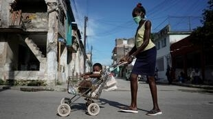 La Havane le 17 juin 2020.