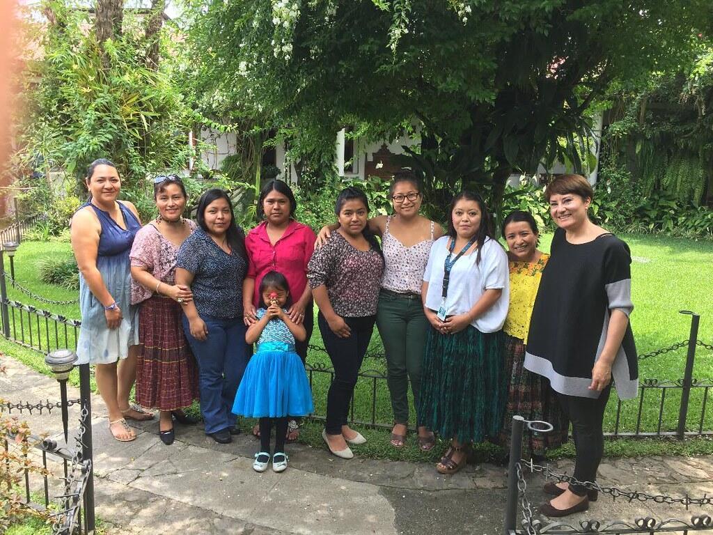 Ruth Gómez Sobrino, durante una mision para Human Rights Defenders. Guatemala 2019/ creditos RGS