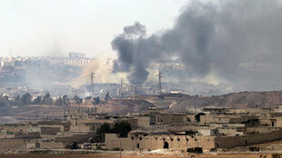 Os bairros rebeldes de Aleppo foram alvos de um novo ataque neste sábado