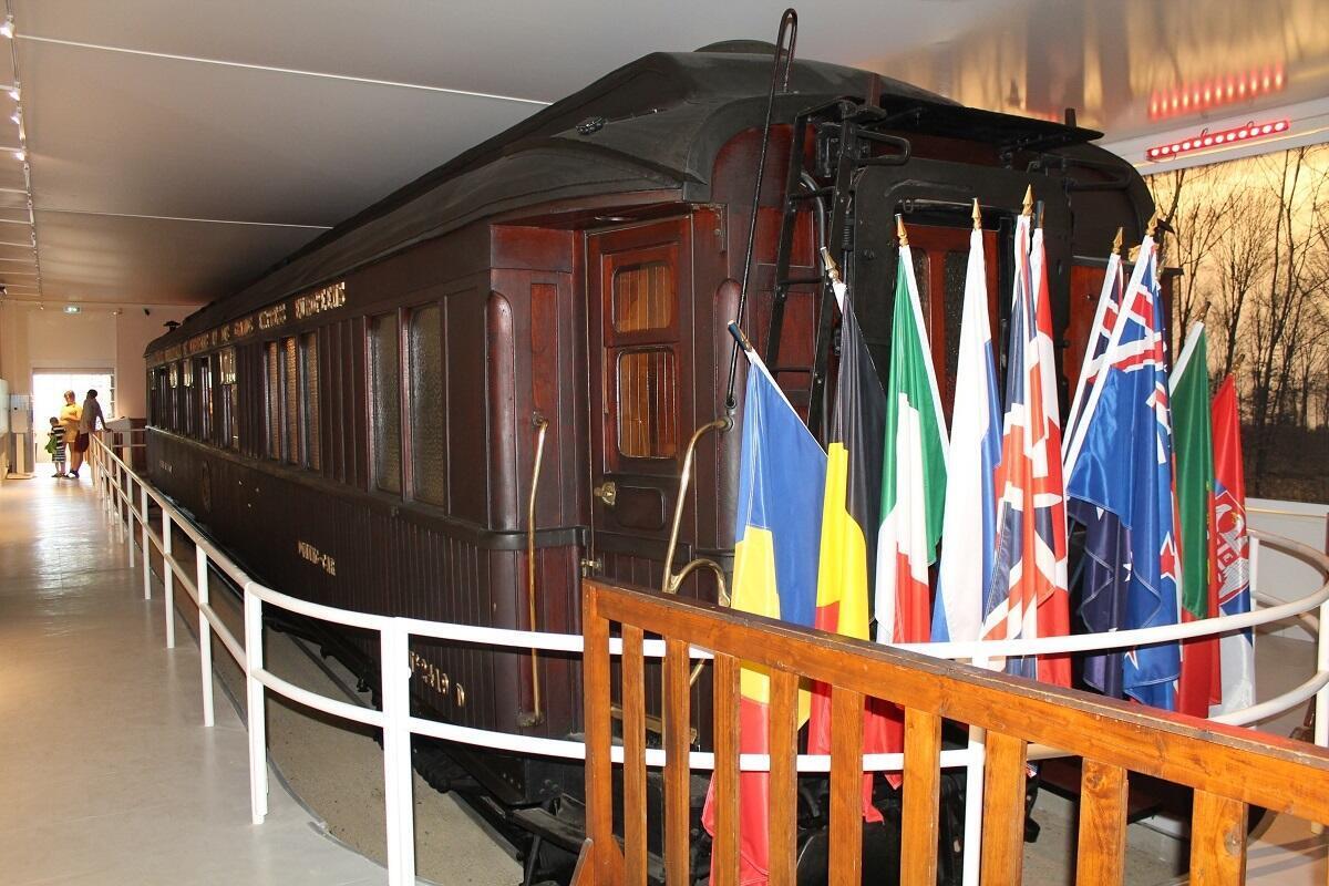 Le wagon de l'Armistice, une pièce marquante de l'Histoire franco-allemande