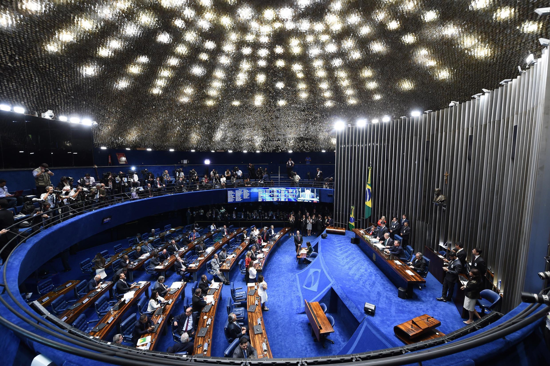 Le Sénat brésilien se prononce ce 11 mai 2016 sur la procédure de destitution de Dilma Rousseff.