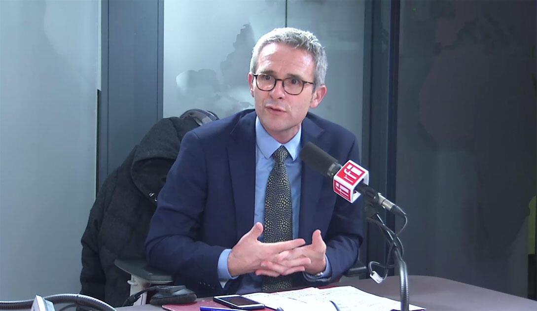 Stéphane Troussel, président du département de Seine-Saint-Denis.
