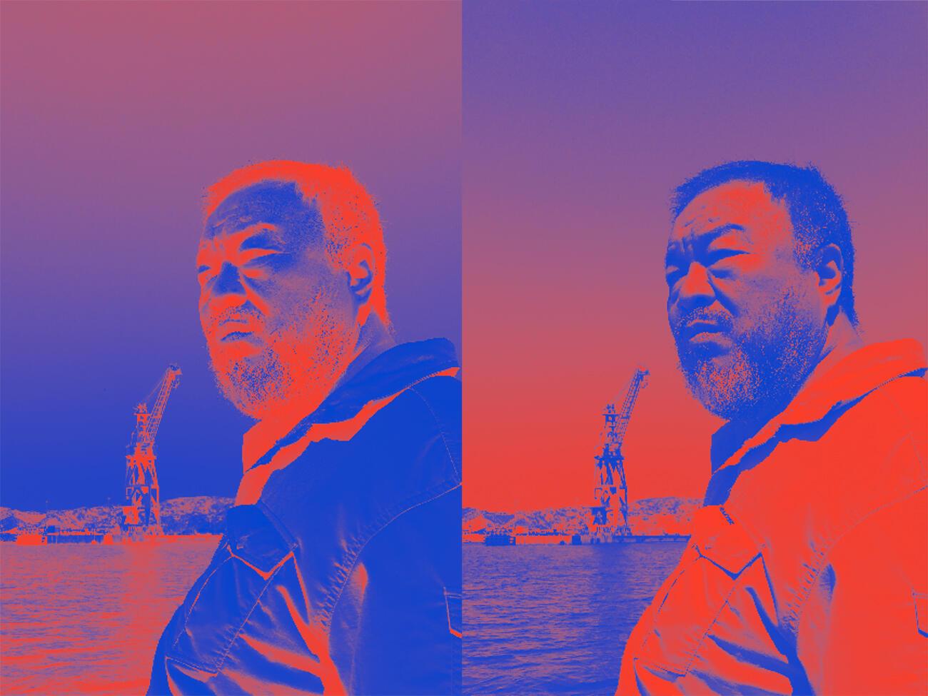 """Ai Weiwei presenta """"Fan-Tan"""" en Marsella."""