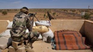 Soldat touareg de l'armée malienne, le 9 février 2013 (image d'illustration).