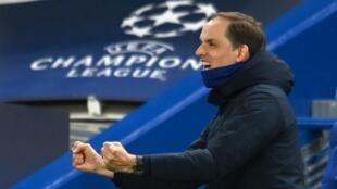 Chelsea manager Thomas Tuchel celebrates