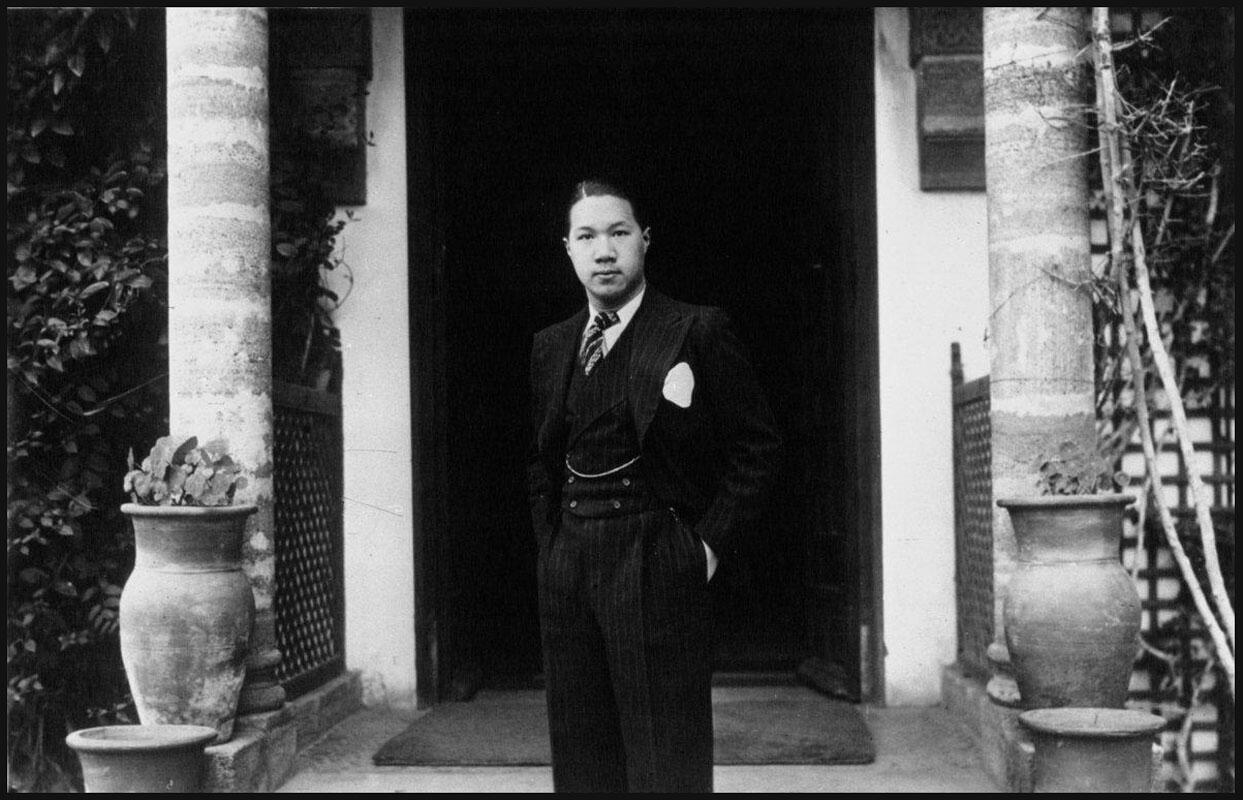 Hoàng đế Bảo Đại. Ảnh chụp năm 1932.