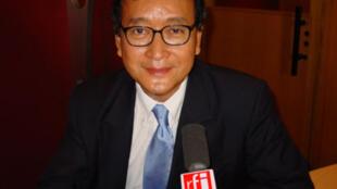 Sam Rainsy, ancien ministre de l'économie au Cambodge.