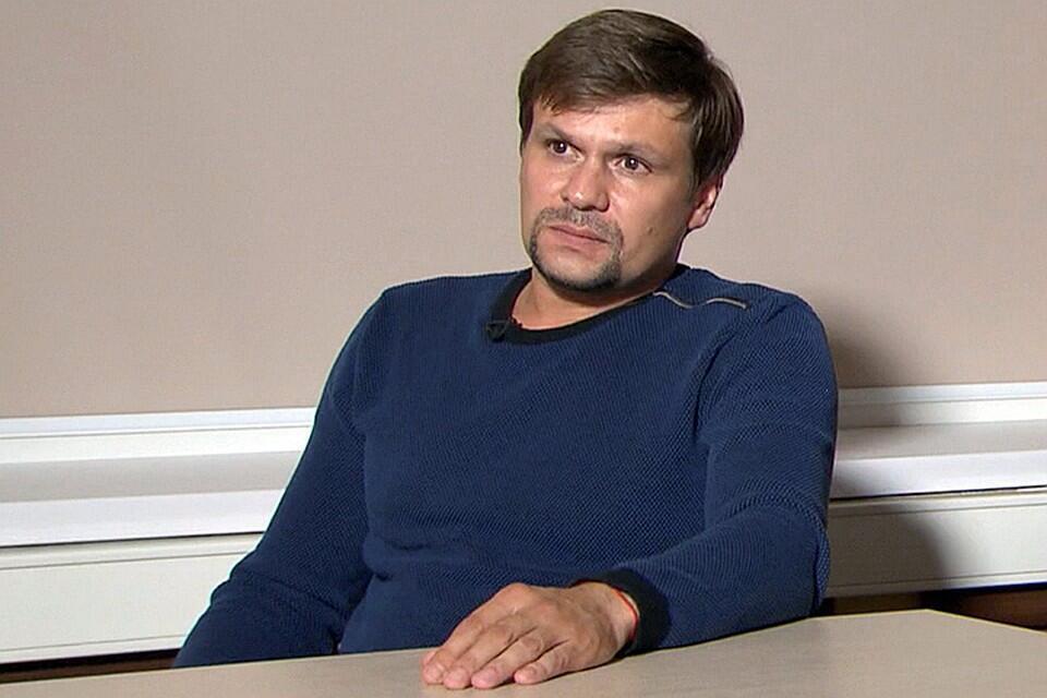Руслан Боширов во время интервью телеканалу RT