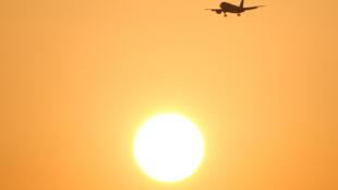 Mặt trời thiêu đốt tại Malaga, miền nam Tây Ban Nha. Ảnh chụp ngày 03/08/2018.