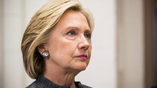 L'ancienne secrétaire d'Etat américaine Hillary Clinton est pour l'instant la seule candidate démocrate déclarée pour la présidentielle américaine de 2016.