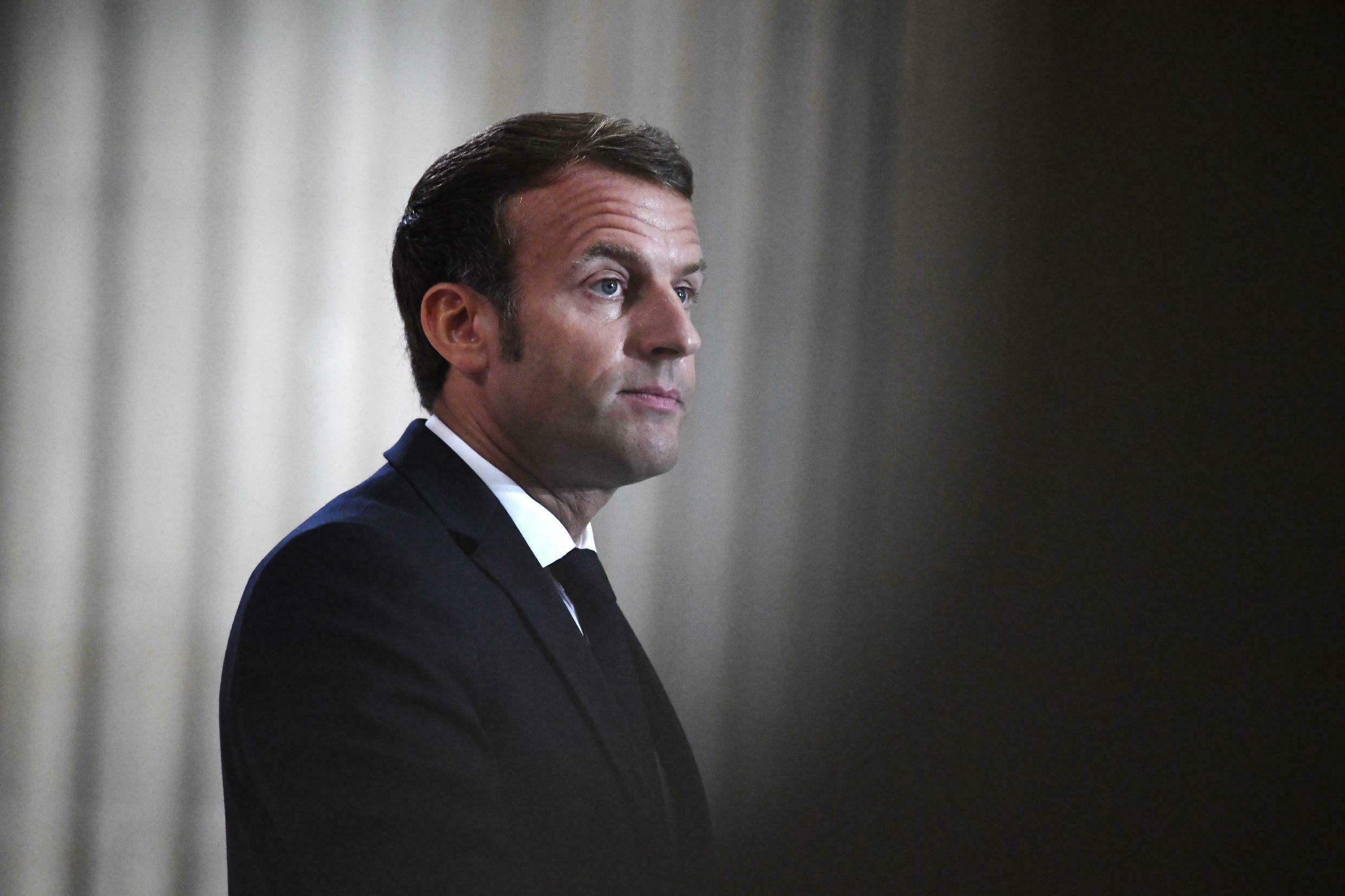 French President Emmanuel Macron warned the United States that Europe will not compromise on the issue of sanctions over Iran's nuclear program