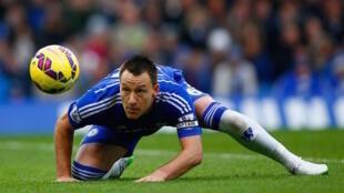 Beki wa kati wa Chelsea, John Terry ambaye ametangaza ataachana na klabu yake mwishoni mwa msimu
