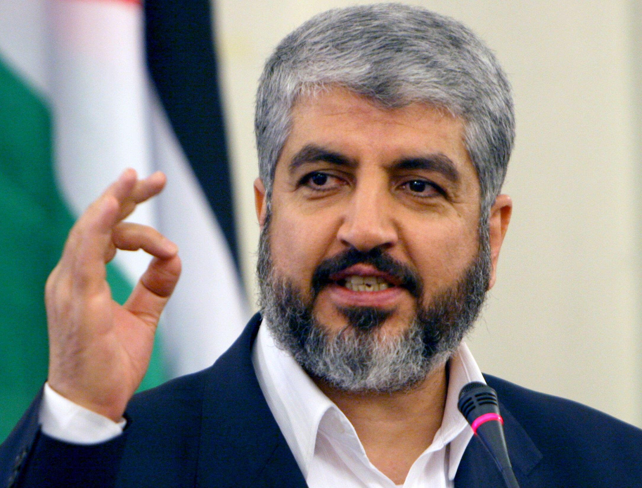 خالد مشعل، رهبر سیاسی سازمان حماس