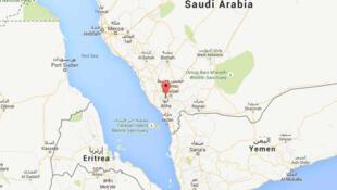 """یکی ازحملات موشکی شورشیان شیعی یمن علیه عربستان سعودی، جمعه شب اول ژانویه ٢٠١٦،علیه شهر """"ابها"""" واقع در جنوب غرب عربستان سعودی صورت گرفت."""