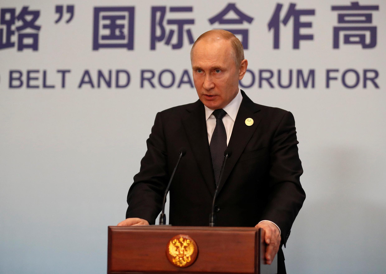 """سخنرانی ولادیمیر پوتین، رئیس جمهوری روسیه در دومین مجمع """"راه ابریشم نوین""""، که نام """"یک کمربند- یک جاده"""" را به طور رسمی به خود گرفته است. شنبه ٧ اردیبهشت / ٢٧ آوریل ٢٠۱٩"""