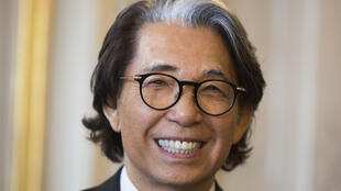 Foto de archivo del  diseñador japonés Kenzo Takada fallecido el 4 de octubre de 2020 a las afueras de París debido al covid-19