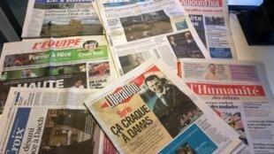 Diários franceses 15/05/2015