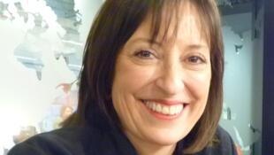 La compositora mexicana Ana Lara en los estudios de RFI