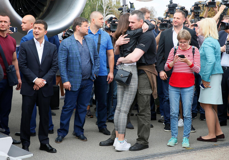 Oleg Sentsov, daya daga cikin mutanen da Rasha ta sako zuwa Ukraine