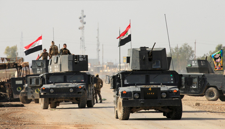 Dakarun Iraqi na kokarin karbe birnin Mosul daga hannun mayakan IS