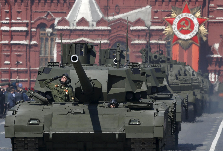 Le char Armata T-14, présenté par la Russie comme le meilleur char du monde, devrait faire forte impression à Moscou ce samedi 9 mai.