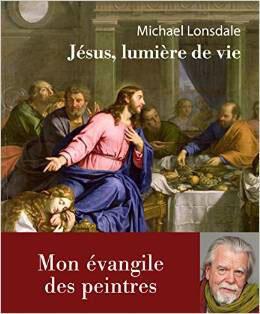 Michael Lonsdale  pour son livre «Jésus , lumière de vie : mon Evangile des peintres», Editions Philippe Rey, octobre 2014.