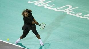 Serena Williams renounced her attempt to compete at the 2018 Autstralian Open after appearing in an exhibition match in Abu Dhabi.