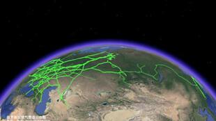 網絡關於俄羅斯天然氣供應分布圖片
