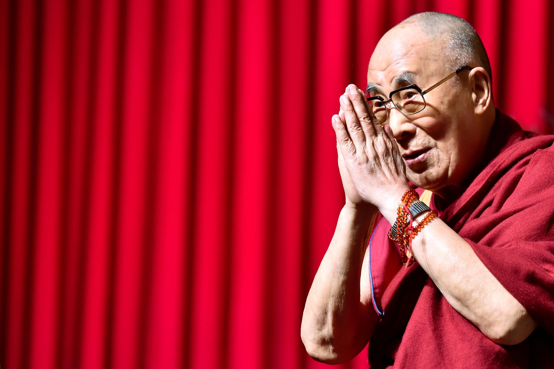 O Dalai Lama, em Bruxelas, 11/09/16.