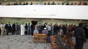 El Cairo primera vuelta de las elecciones legislativas.