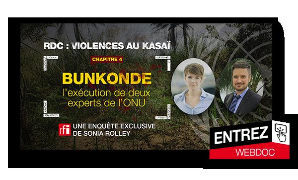 RDC Violences au Kasai - Bunkonde : l'exécution de deux experts de l'ONU