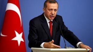 Firaministan Turkiyya Recep Tayyip Erdogan