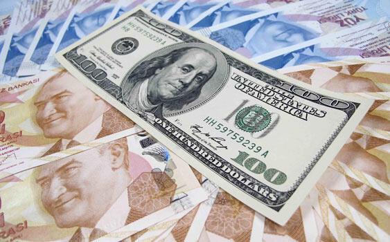سقوط ارزش لیر ترکیه در برابر دلار و یورو