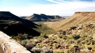 The Karoo desert in South Africa