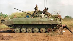 Forçadas Armadas Angolanas em 1998. Imagem de Arquivo.
