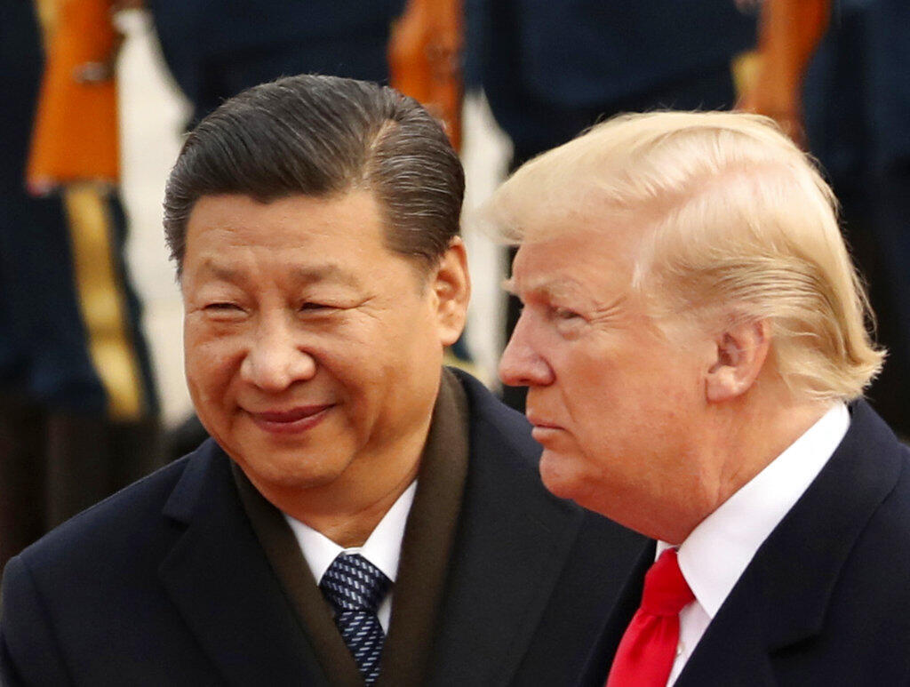 Chinese President Xi Jinping and US President Donald Trump. Anti-China rhetoric has become part of Trump's 2020 re-election campaign.