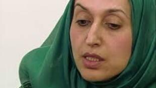 Seham Sergewa, 'yar majalisar Libya da 'yan bindiga suka sace a birnin Benghazi.