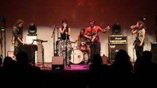 El grupo Munn en concierto.