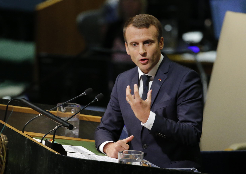 Свою первую речь на Генассамблее ООН Эмманюэль Макрон начал с cирийского вопроса.