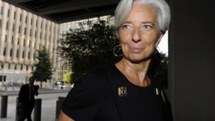 La ministra francesa de Economia, Christine Lagarde.