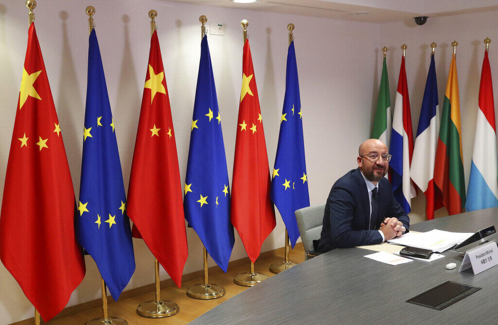 sommet EU-Chine Charles Michel 22062020