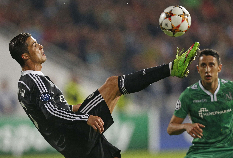 Le Portugais Cristiano Ronaldo pourrait dépasser le record du nombre de buts inscrits en Ligue des Champions dès ce soir.