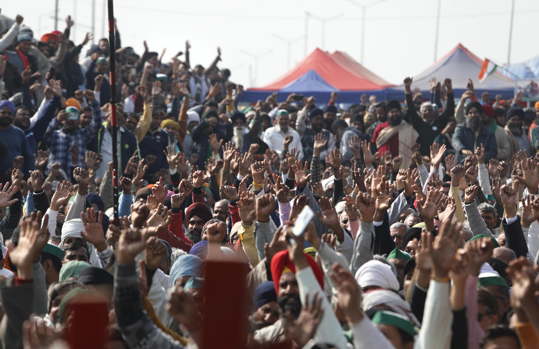 Inde: le mouvement de contestation contre la réforme agricole ne s'essouffle pas
