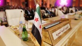 A cadeira reservada à Síria na Liga Árabe