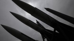 Tên lửa Bắc Triều Tiên. Ảnh minh họa