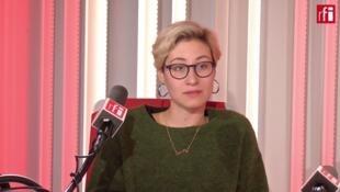 Фотограф Мария Гельман в студии RFI