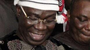 Tsohon mataimakin shugaban majalisar dattijan Najeriya Sanata Ike Ekweremadu.