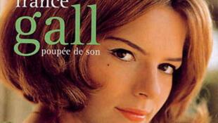 """Bìa dĩa nhạc """"Poupée de cire poupée de son"""" của France Gall."""
