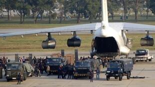 Một chiếc máy bay của Gruzia  bị tình nghi chuyên chở vũ khí chế tạo tại Bắc Triều tiên và bị chặn bắt tại Bangkok hồi tháng 12/2009.